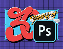 30 Years of Photoshop / Poster