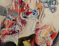 Acrylics 70x50 cm
