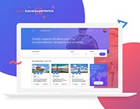 Your Travel Experience - Website Concept