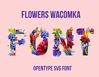 Flowers Wacomka Font