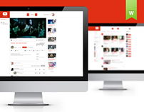 Youtube Web ReDesign