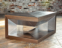 Cantilever Coffee Table: Furniture Design