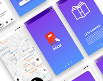 Pick Book Android Application UI And Wireframe