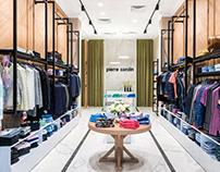 Interior Design of a Fashion Boutique