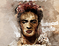 Frida Kahlo (Old Art - Photoshop Action)