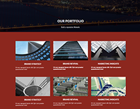 Vivacity Corporate Website Concept