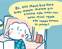 Comic of PLN Indonesia