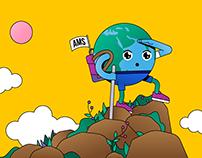 Globi — Mascot Design for Amsterdam Airport Schiphol