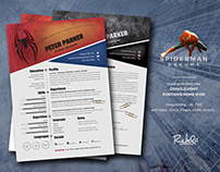Spiderman Resume | Cv - in Heroes serial - Rebelinart