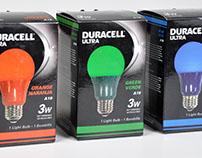Duracell Ultra A19 colored light bulbs