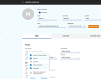 User management App - Design (Material Design)