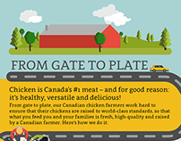 From Gate to Plate - Infographic