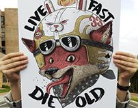 Live Fas Die Old