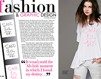 Magazine Spread for Verve Magazine