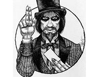 Halloween Saints: Mr. Dark