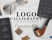 Logo Creation Kit - Calligraphy Edition