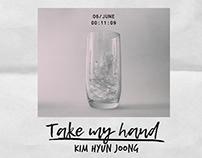 KIM HYUN JOONG single Take my hand