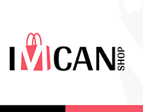 Imcan online store logo project