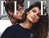 ELLE SPAIN Davinia and Oriol Elcacho