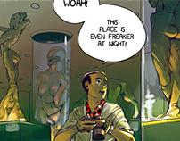 Flesh Emporium (concepts + 4pg comic)