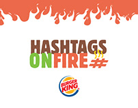 Burger King - Hashtags on Fire