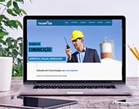 WEBSITE TECNORADIO SOLUÇÕES EM COMUNICAÇÃO
