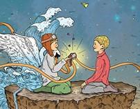 Ο μικρός πιλότος / Εικονογράφηση παιδικού βιβλίου