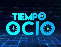 """Linea Gráfica Programa de televisión """" Tiempo de Ocio"""""""