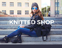E-commerce website for Knitted shop