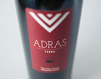 Adras Terra - Wine Label