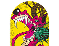 Skateboard @matdisseny • Brave Dragon