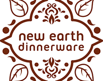 New Earth Dinnerware - logo design