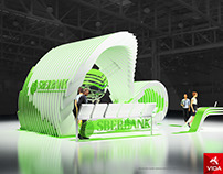 """Exhibition stand for """"Sberbank"""" INFINITY"""