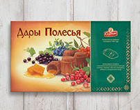 Illustration and design for Candies box.