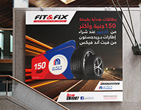 Fit&Fix - Bridge Stone Marketing Campaign