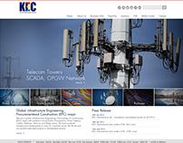 KEC Website Pitch Work