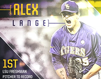 2015 LSU Baseball - Alex Lange