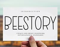 FREE | Beestory Font