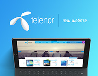 New Telenor Serbia Web site