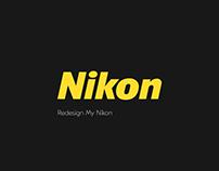 Redesign MY NIKON