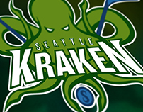 Seattle Kraken NHL Team Concept