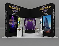 Stand conceptual Hard Rock Hotel Megapolis Panamá
