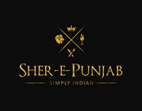 Sher-e-Punjab - Restaurant Branding