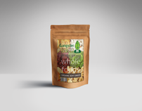 Dried Foods Product Design & Packagin Mockup
