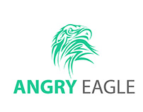 Angry Eagle Logo Design