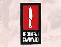 Le Couteau Savoyard - Logo Design