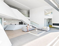 Futuristic Residence by Arshia Architects