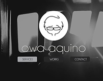 owa.aquino Portfolio website (Template)