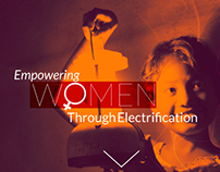 Women Empowerment - Website Layout