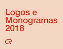 Logos e Monogramas 2018 - Estudos